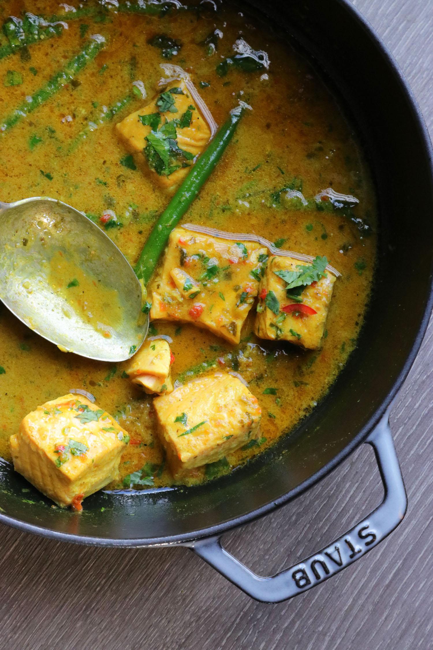 Recipe Notes   Keralan Salmon Curry - Staub Cookware - Humphrey Munson Blog