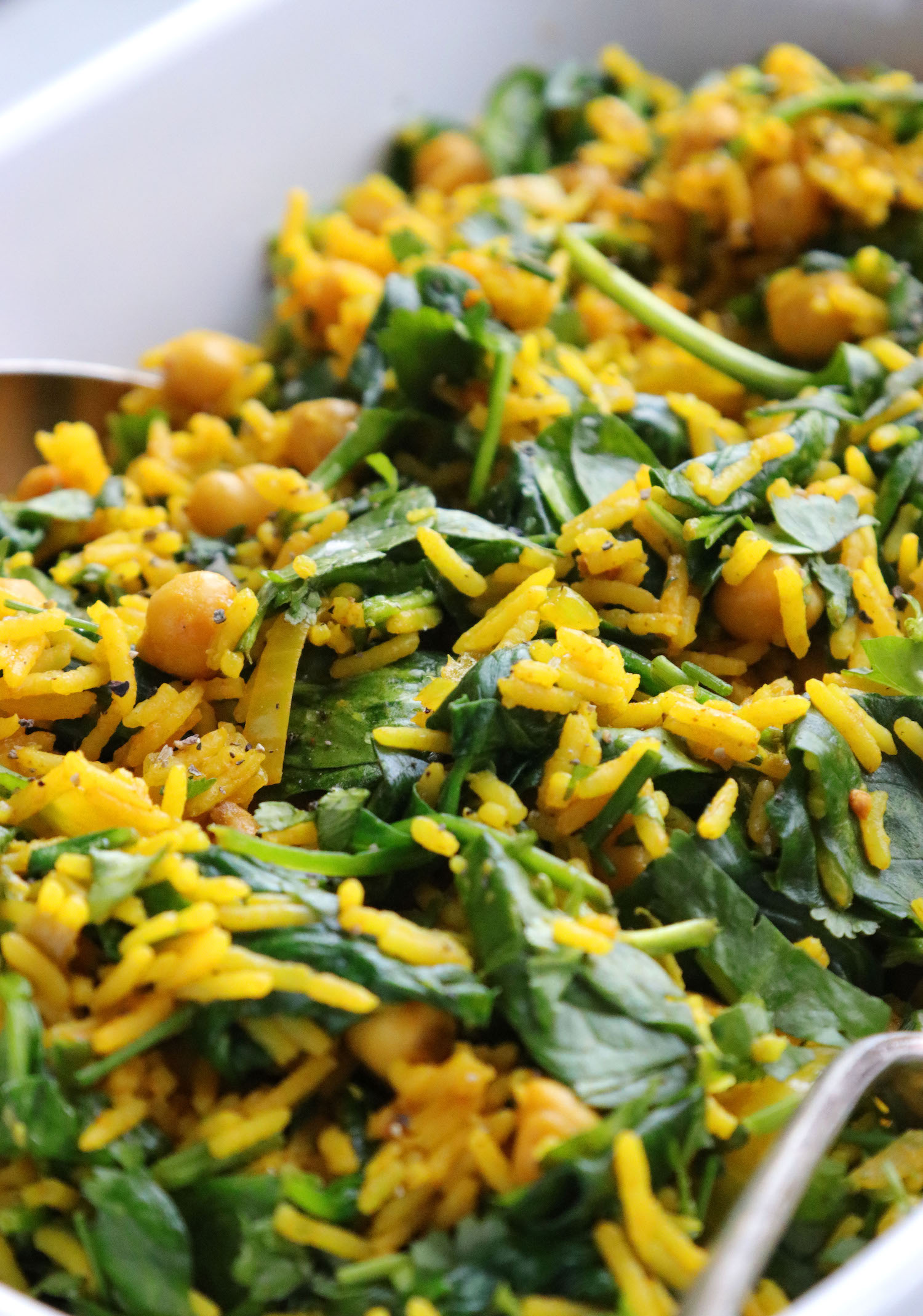 Recipe Notes | Persian Chickpea And Spinach Rice | Humphrey Munson Blog
