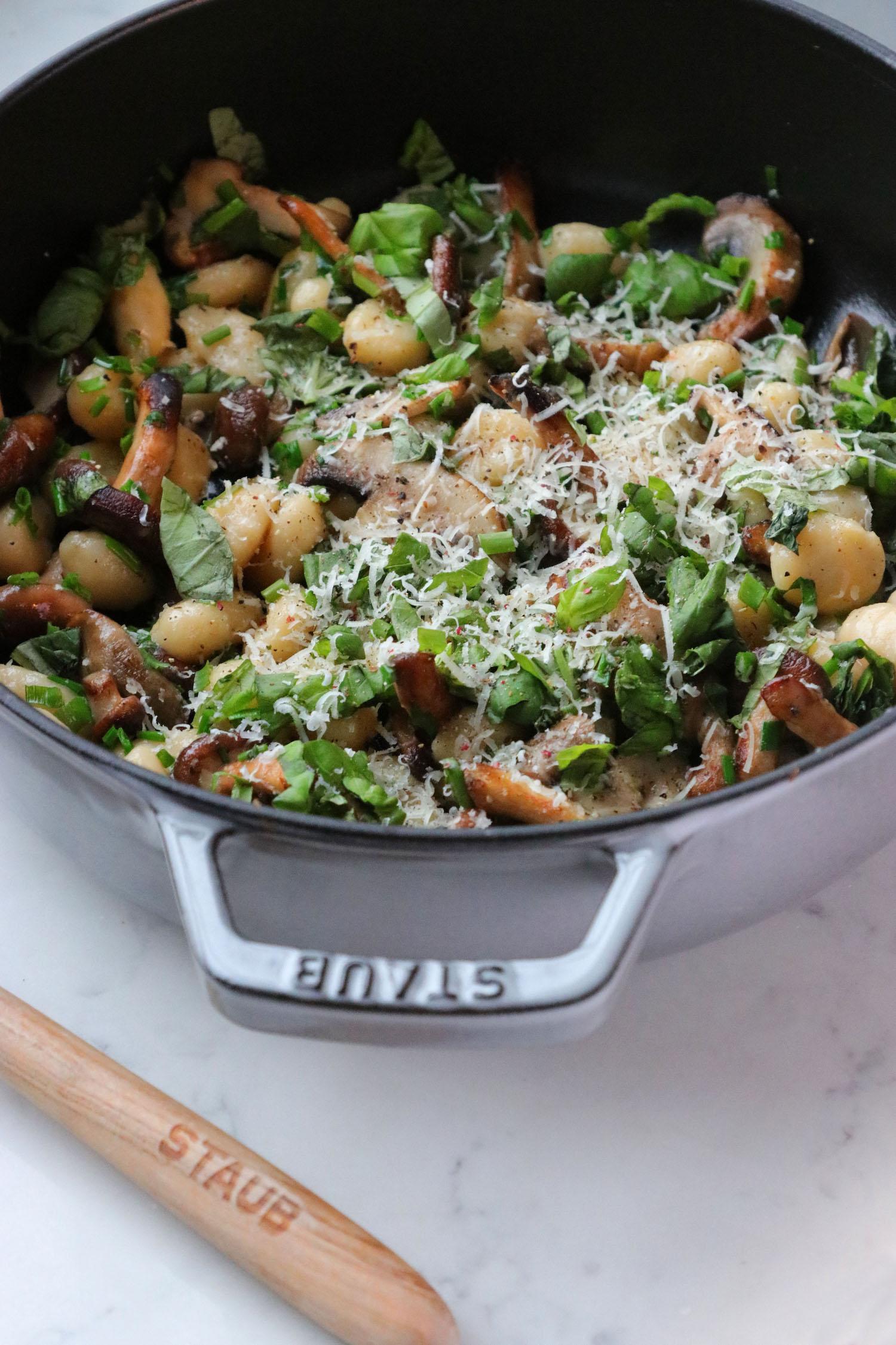 Recipe Notes | Mushroom Gnocchi - Humphrey Munson Blog