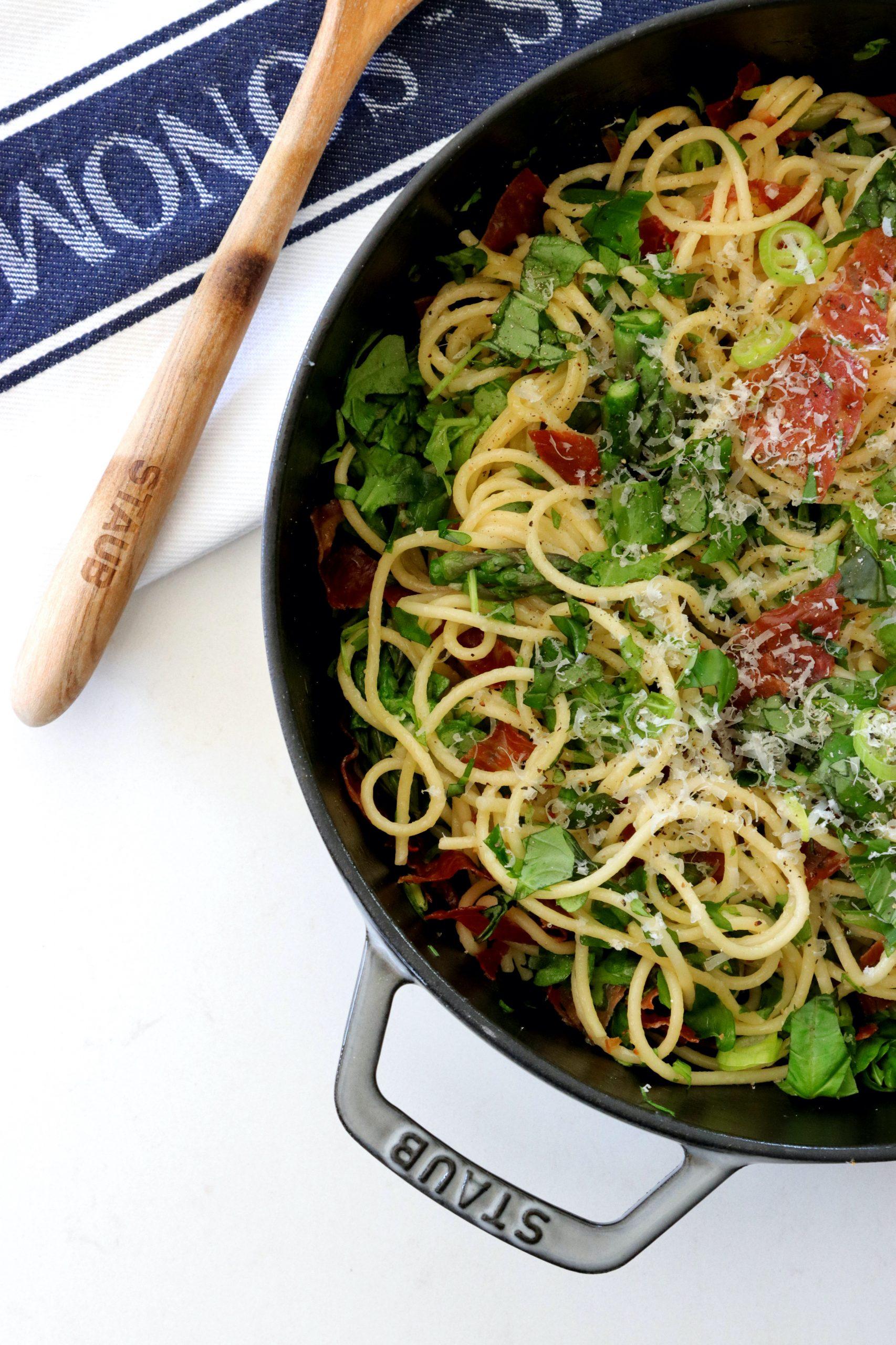 Recipe Notes   Prosciutto and Asparagus Pasta - Humphrey Munson