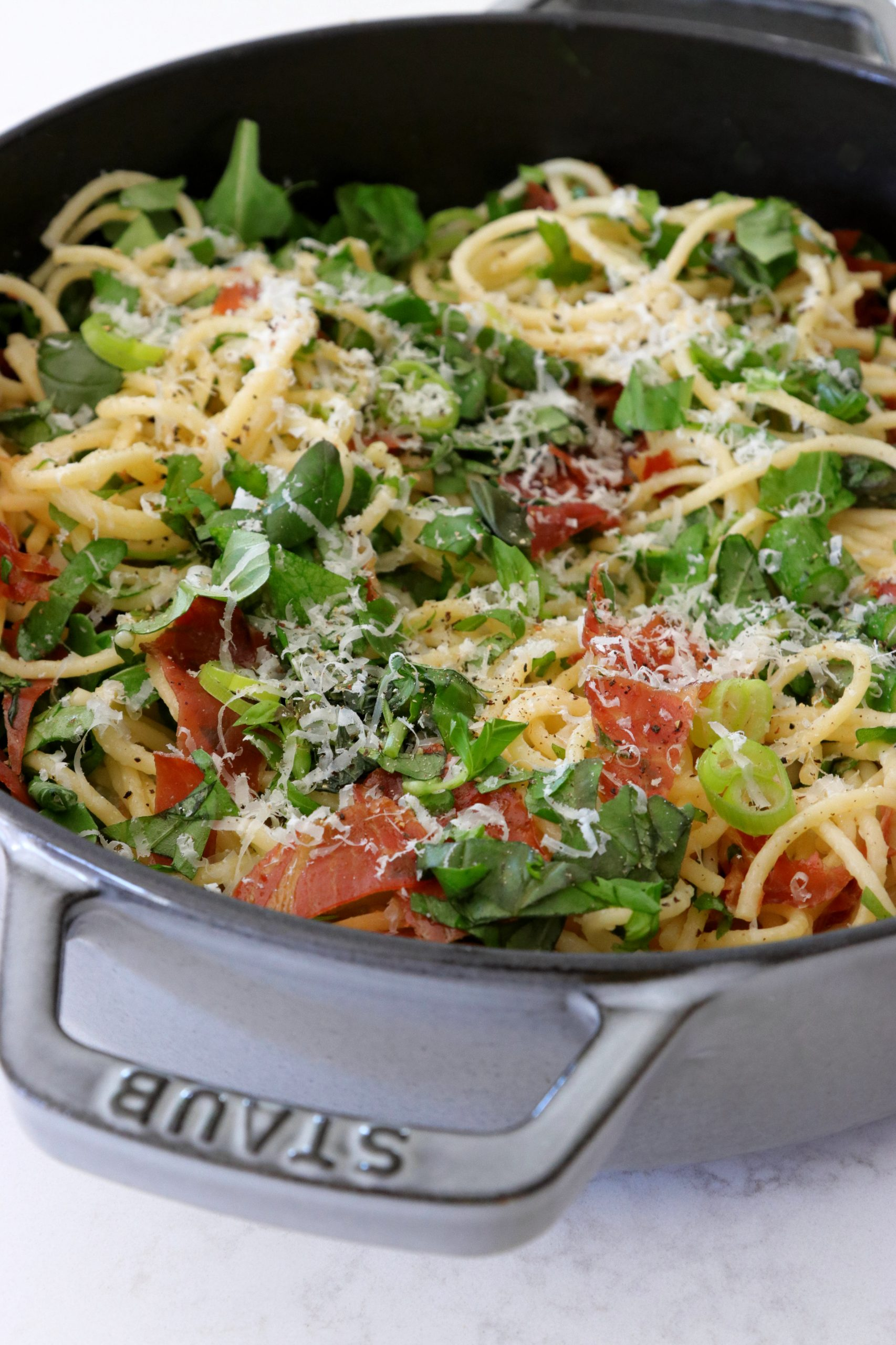 Recipe Notes | Prosciutto and Asparagus Pasta - Humphrey Munson