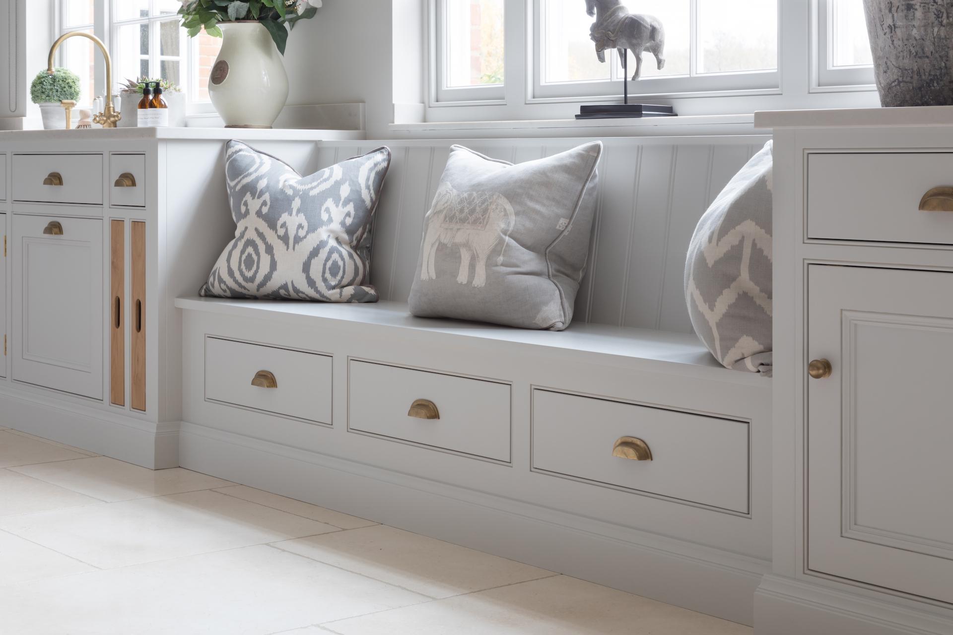 Bench Seat - Cranbrook project - Design Notes - Humphrey Munson
