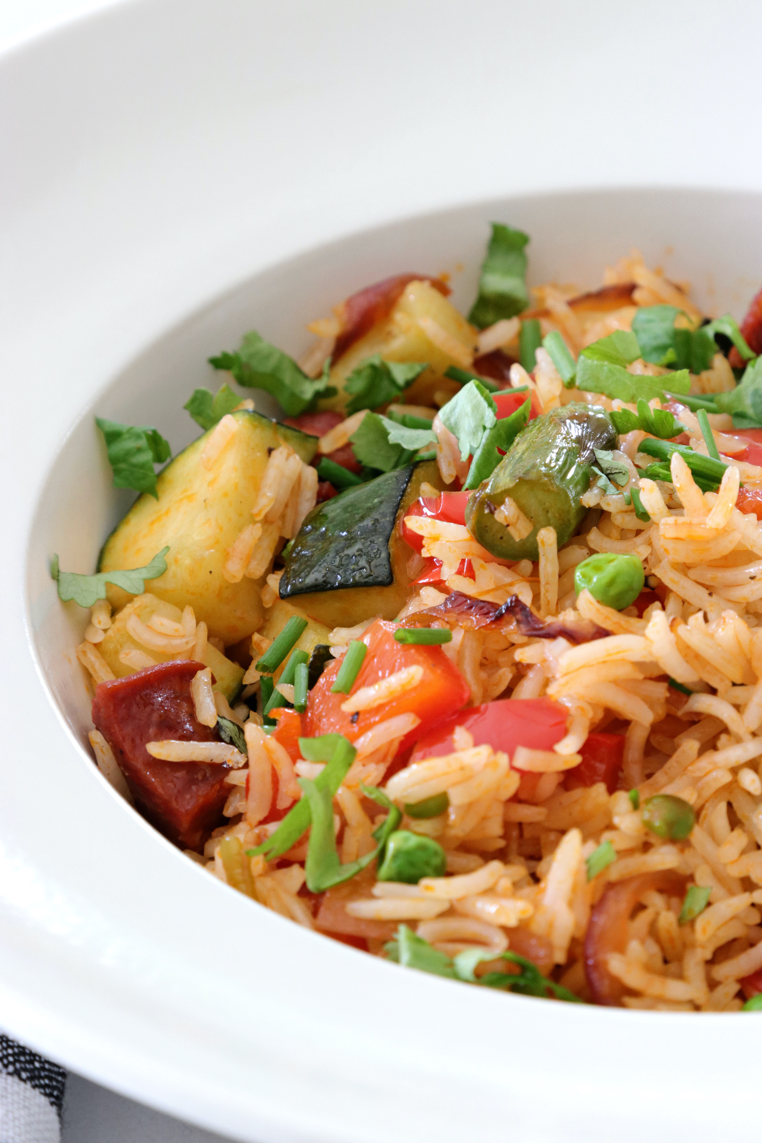 Recipe Notes - Chorizo And Veggie Rice - Humphrey Munson Blog
