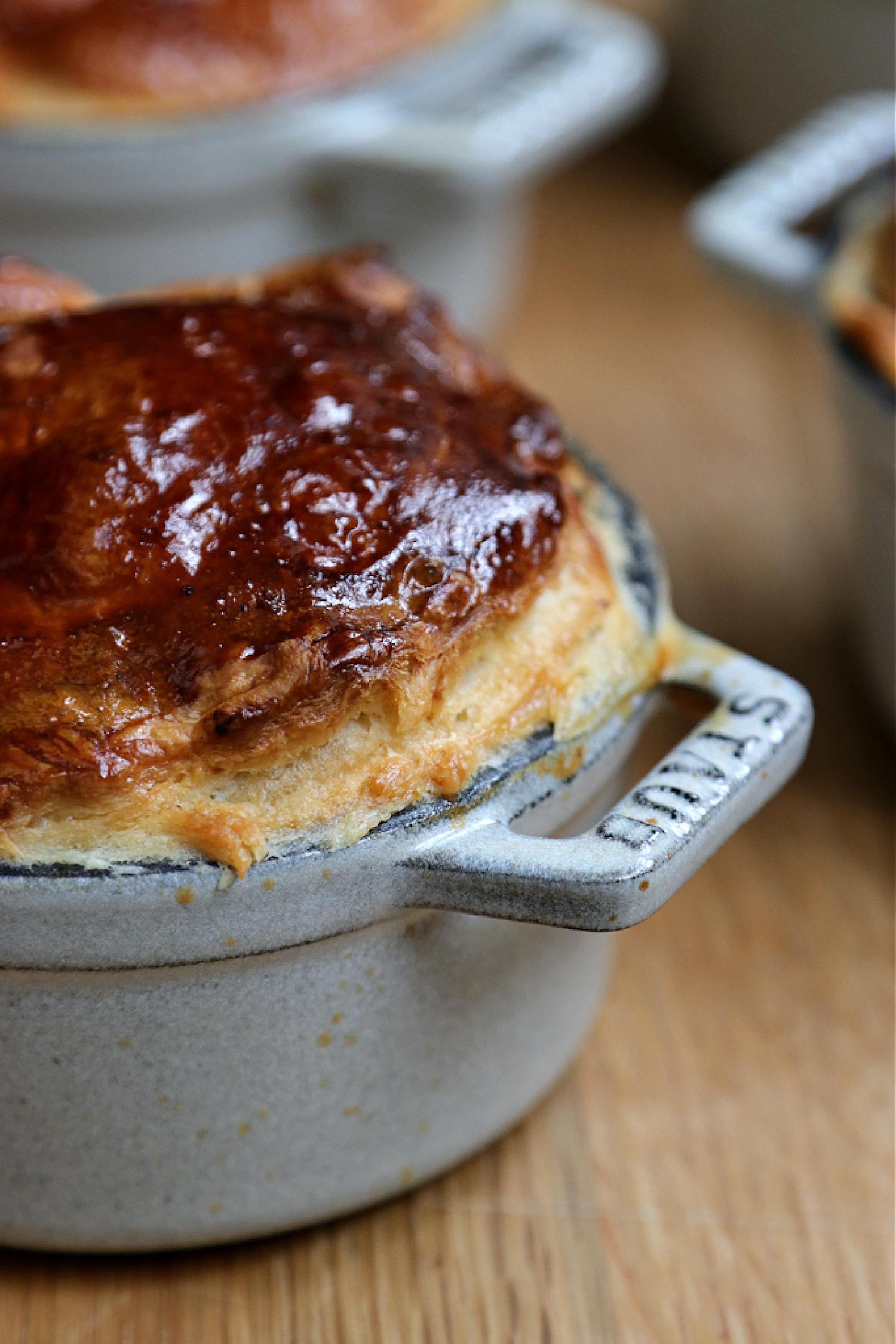Recipe Notes   Mini Chicken, Bacon and Mushroom Pies