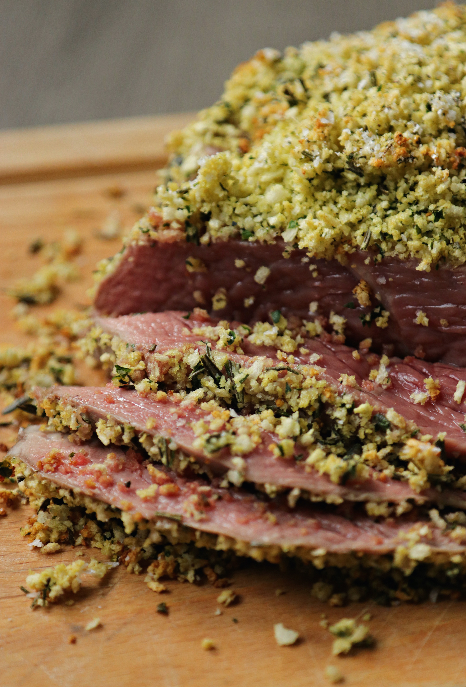 Roast Beef with herby dijon crust - MEATER probe - recipe notes - Humphrey Munson Blog