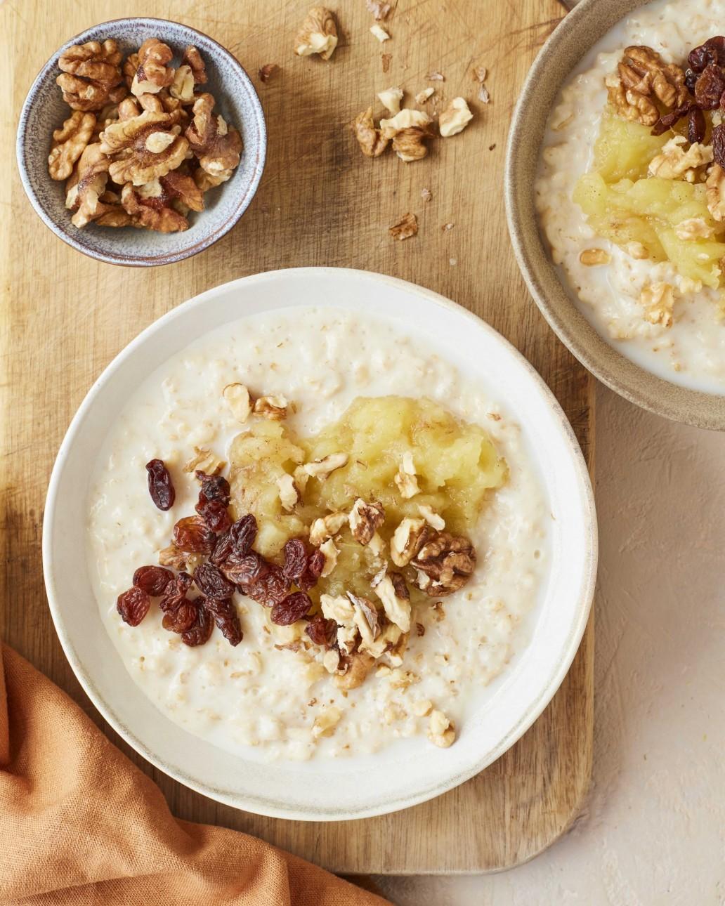 Amelia Freer's 10 recipes for nourishing your body this January - Porridge - Humphrey Munson